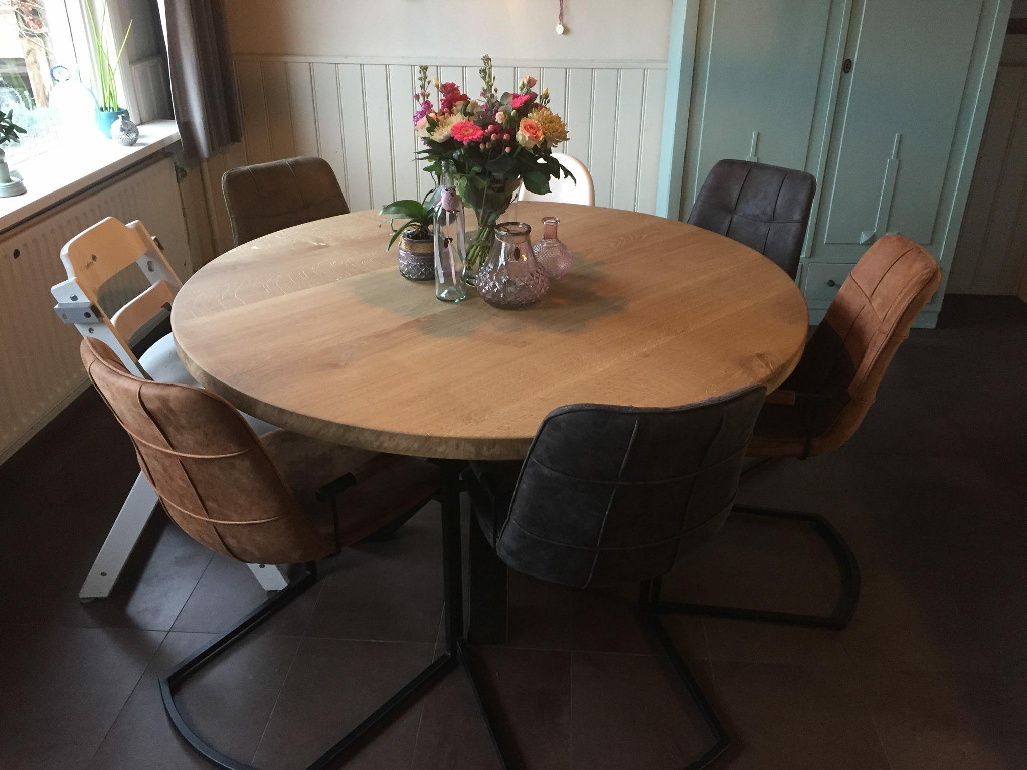 Ronde keuken tafel u achterhoek tafels
